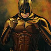 Batman The Dark Knight  Art Print by Paul Meijering