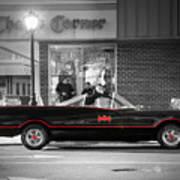 Batmobile Art Print