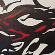Bats And Eyes Art Print