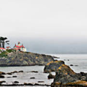 Battery Point Lighthouse California Art Print by Christine Till