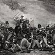 Battle At Princeton New Jersey Usa 1775 Art Print