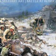 Battle At Roberts Ridge Art Print