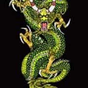 Battle Dragon Art Print