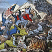 Battle Of Chattanooga 1863 Art Print