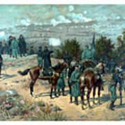 Battle Of Chattanooga Art Print