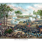Battle Of Cold Harbor Art Print