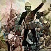 Battle Of Majuba Mountain  Art Print
