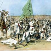 Battle Of Omdurman 1898 Art Print