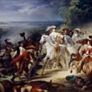 Battle Of Rocroy Art Print