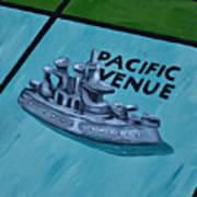 Battle Ship Art Print
