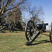 Battlefield At Fredericksburg Art Print