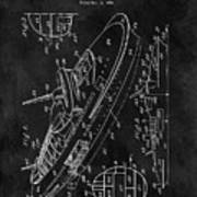 Battleship Patent Art Print