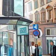 Bauernmarkt 2a Wien Art Print