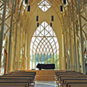 Baughman Meditation Center - Inside Rear Art Print