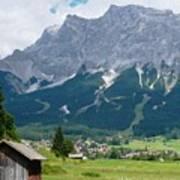 Bavarian Alps Landscape Art Print