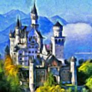 Bavaria's Neuschwanstein Castle Art Print