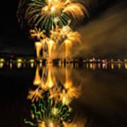 Bay City Fireworks - 2017 - 7 Art Print