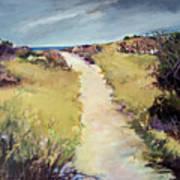 Bay Path Art Print