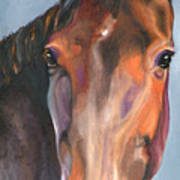 Thoroughbred Royalty Art Print