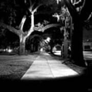 Bay Street Midnight Path Art Print