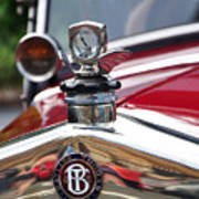 Bayliss Thomas Badge And Hood Ornament Art Print