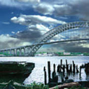 Bayonne Bridge Art Print