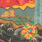 Bayou Bend Art Print