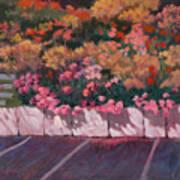 Bayside Flowers Art Print