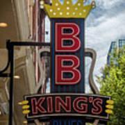 Bb King's Blues Club - Honky Tonk Row Art Print