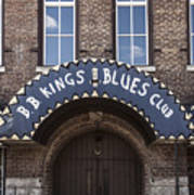 B.b. King's Blues Club Art Print