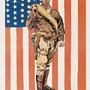 Be A U.s. Marine Art Print