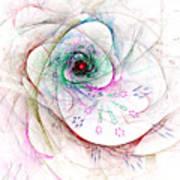 Be Strong Little Flower Art Print
