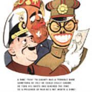 Be Sure You Have Correct Time Propaganda Art Print