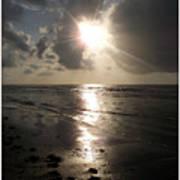 Beach After Sunrise  Art Print
