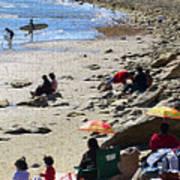 Beach Babies 2 Art Print