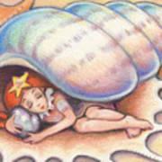 Beach Babys Treasure Art Print