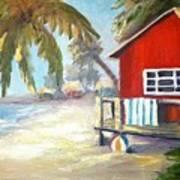 Beach Ball Resort Art Print