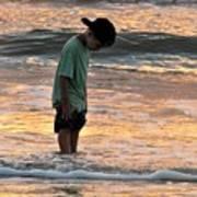 Beach Boy Art Print
