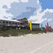 Beach Casino Art Print