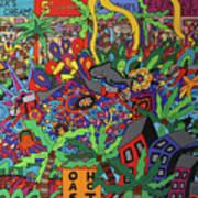 Beach Front Boulevard Art Print