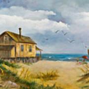 Beach Getaway Art Print