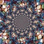 Beach Kaleidoscope Art Print