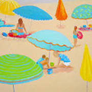 Beach Living Art Print