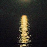 Beach Moonglow Art Print