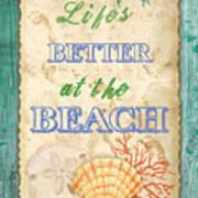 Beach Notes-jp3761 Art Print