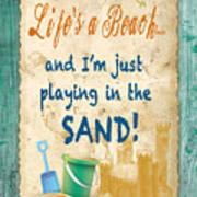 Beach Notes-jp3762 Art Print
