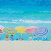 Beach Painting - Color Of Summer Art Print