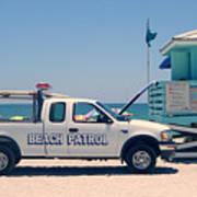 Beach Patrol Art Print