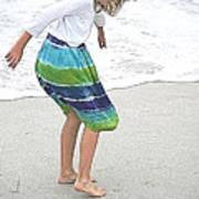 Beach Play Time Art Print