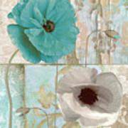 Beach Poppies II Art Print